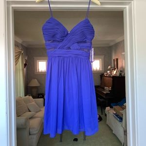 Royal Blue Mini Dress